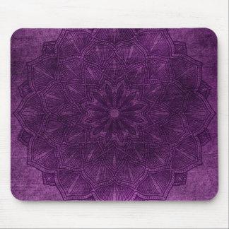Purple Mandala Mouse Pad