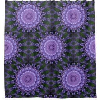 Purple Mandala Shower Curtain