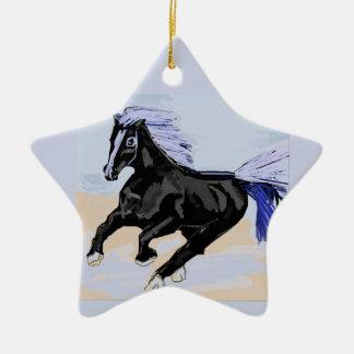 Purple Mane Christmas Ornament
