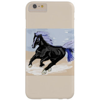 Purple Mane Horse Barely There iPhone 6 Plus Case