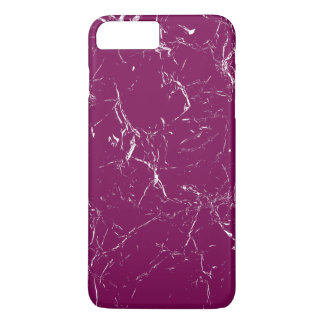 Purple Marble Patterned iPhone 8 Plus/7 Plus Case