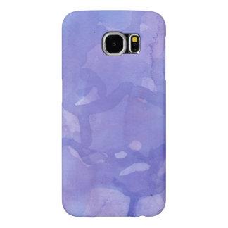 Purple Marble Samsung Galaxy S6 Cases