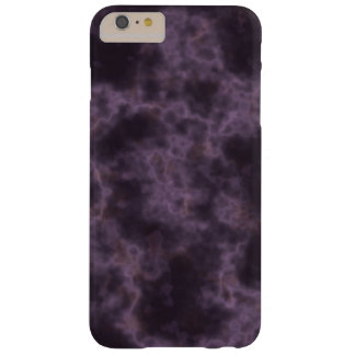 Purple Marble Texture Barely There iPhone 6 Plus Case