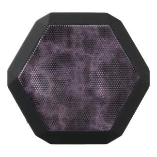 Purple Marble Texture Black Bluetooth Speaker