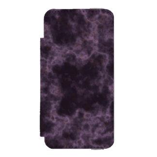 Purple Marble Texture Incipio Watson™ iPhone 5 Wallet Case