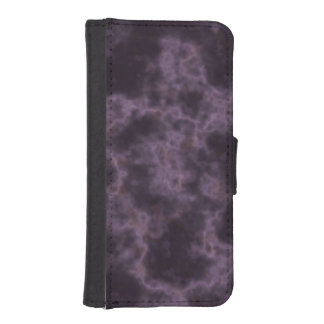 Purple Marble Texture iPhone SE/5/5s Wallet Case