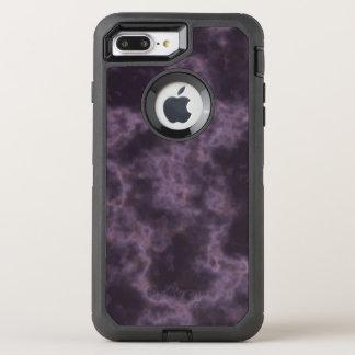 Purple Marble Texture OtterBox Defender iPhone 8 Plus/7 Plus Case
