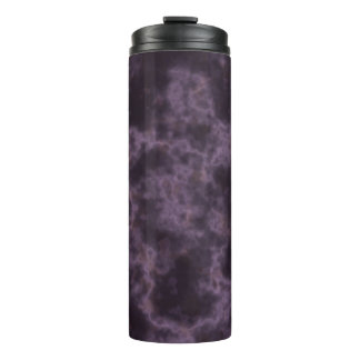 Purple Marble Texture Thermal Tumbler