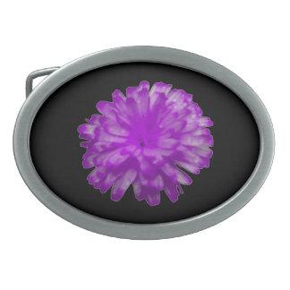Purple Marigold Belt Buckle