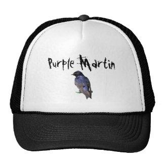 Purple Martin Cap