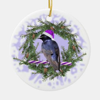 Purple Martin Holiday Christmas Ornament