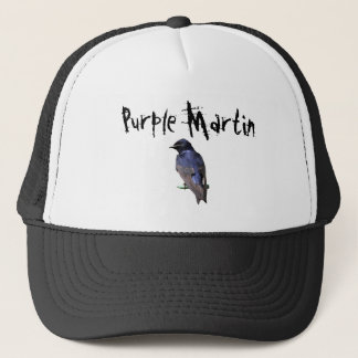 Purple Martin Trucker Hat