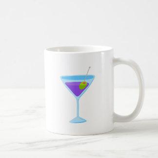 Purple Martini Basic White Mug