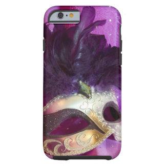 Purple Masquerade Mask Tough iPhone 6 Case