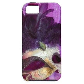 Purple Masquerade Mask iPhone 5 Cases