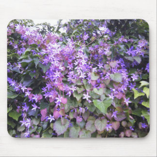 Purple / Mauve Flower Mousepad