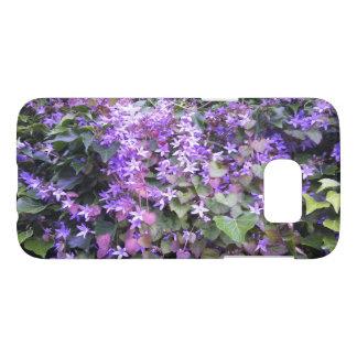 Purple / Mauve Flowers Design Phone Case