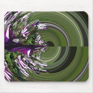 Purple Maze Mouse Mat