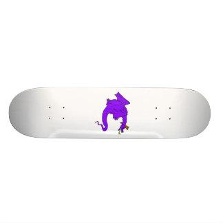 Purple Mean Dragon Skate Board Decks