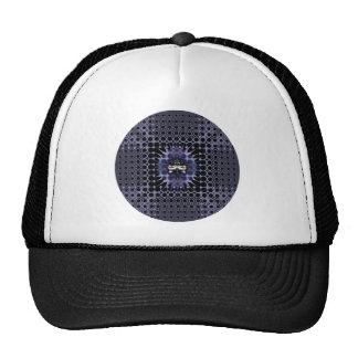 Purple Meditation Cap