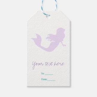 Purple Mermaid Beach Bling Birthday Party Favor