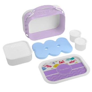 Purple Mermaid Lunchbox