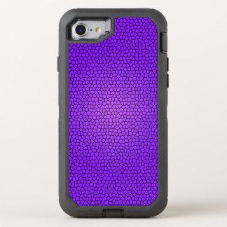 Purple Mermaid Print Design OtterBox Defender iPhone 7 Case