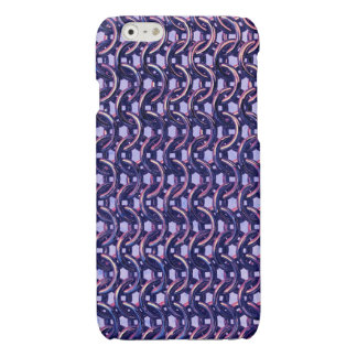 Purple Metal Chain mail Metallic Medieval Armour iPhone 6 Plus Case