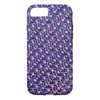 Purple Metal Chain mail Metallic Medieval Style iPhone 8/7 Case
