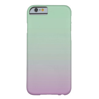 Purple Mint Ombre Barely There iPhone 6 Case