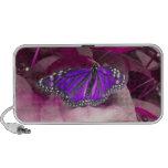Purple Monarch Butterfly Speaker