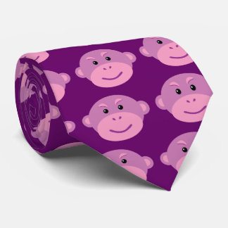 Purple Monkey Tie