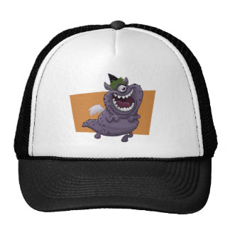 Purple Monster Hat