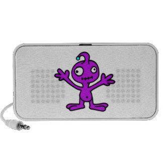 Purple Monster Laptop Speakers