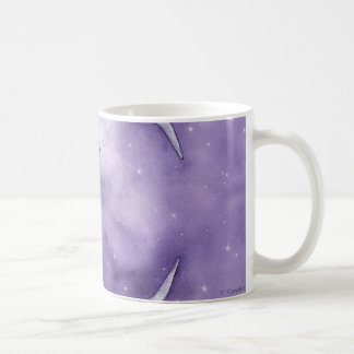 Purple Moon Gothic Fairy Mug by Meredith Dillman