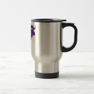 Purple Moose Travel Mug