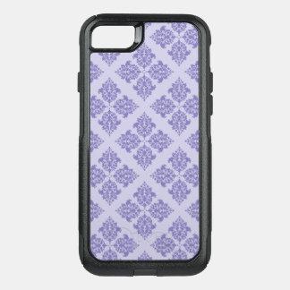 Purple Moroccan Damask OtterBox Commuter iPhone 8/7 Case
