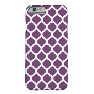 Purple Moroccan Pattern iPhone 6 Case