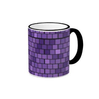 Purple Mosaic Tiles Mug