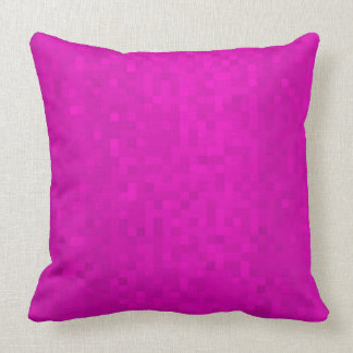 Purple Mosaic Tiles Pattern, Big Throw Cushion