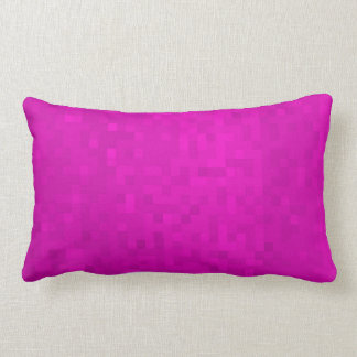 Purple Mosaic Tiles Pattern, Lumbar Cushion