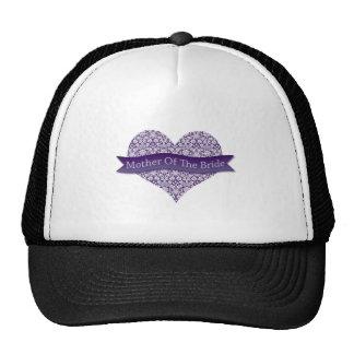 Purple Mother of the Bride Trucker Hat