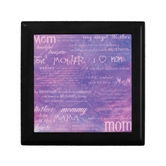 purple mothers day gift box