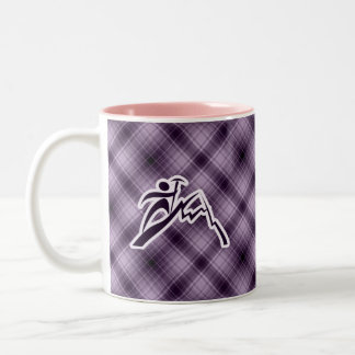 Purple Mountain Climbing Coffee Mugs