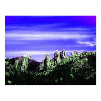 Purple Mountain Majesty Postcard