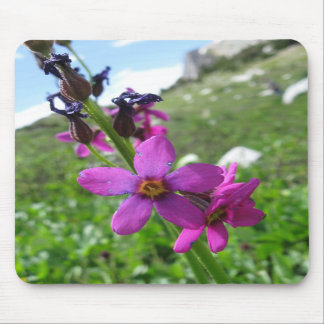 Purple Mountain Wildflower Mousepad