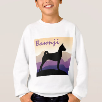 Purple Mountains Basenji Sweatshirt