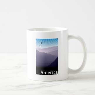 Purple Mountains Basic White Mug