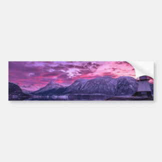 Purple Mountains Bumper Sticker