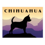 Purple Mountains Chihuahua Postcard